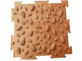 Напольное модульное покрытие ОРТО (эко шишки)